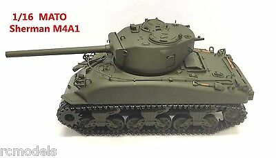 Mato Tank Sherman 1:16 M4A1 BN -- Perfect And Correct Model For British Firefly • 179.99£