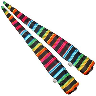 UV Poi Socks - Stretchy Trainer Poi Great For Learning Poi Spinning - Sold Empty • 6.95£