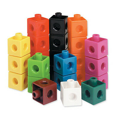 Learning Resources Snap Cubes Set Of 100 For Children – NEW  • 10.45£