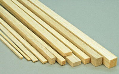 Balsa Wood Balsa Strip 900mm Long Select Dimensions  Pack 5,10,15 • 14.45£