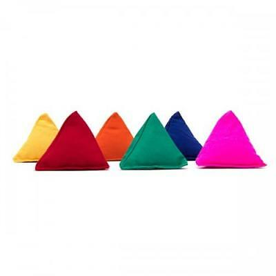 6 Juggle Dream Tri-It Pyramid Bean Bags Juggling And Throwing Tri-Its £1.67 Each • 9.99£