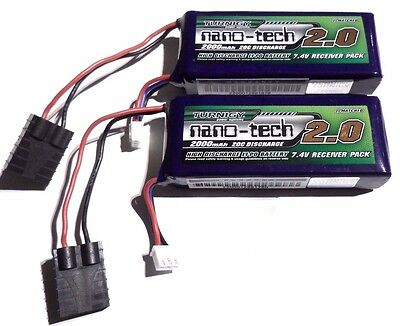 Turnigy 4000mAh 2s 7.4v 20c LiPo For Traxxas 1/16 Mini E-Revo Summit Slash Rally • 39.99£