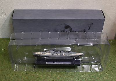 ATLAS EDITIONS COLLECTIONS DeAGOSTINI 1:1250 SCALE HMS EXETER • 14.99£