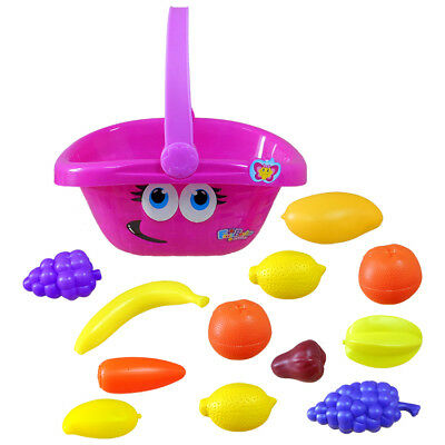 Funny Face Shopping Basket Gift Toy Kids Game Educational • 7.85£