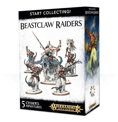 Start Collecting! Beastclaw Raiders Games Workshop Warhammer Age Of Sigmar New • 49.50£