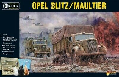Opel Blitz & Maultier Warlord Games Bolt Action Brand New WGB-402012018 • 16.20£