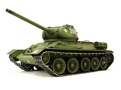 Radio Remote Control Heng Long Rc Tank 1/16  Russian T34 Battle Tank 6.0 V UK • 149.99£