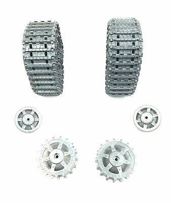 MATO MT012 Metal Tracks & Wheels For 1/16 Jagdpanther,Panther G Fit Heng Long UK • 99.99£