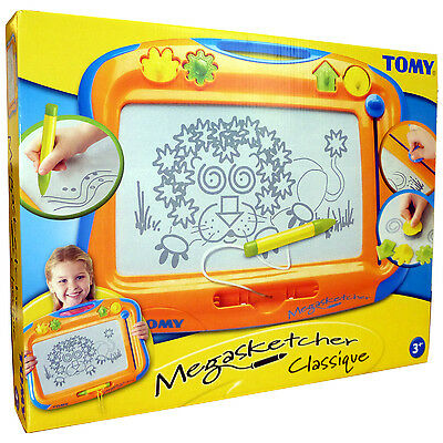 NEW TOMY Megasketcher - Fun Childrens No-Mess Drawing Board With Eraser  • 18.99£