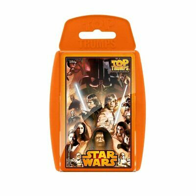 Star Wars 30 Classic Characters Top Trumps Family Card Game New Sealed • 4.79£