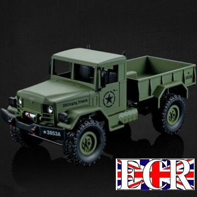 Heng Long 1:16 Scale 2.4g Rc 4x4 Military Army Truck Henglong Fwd Tank Vehicle • 34.99£