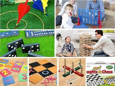 Jumbo-Sized Family Garden Outdoor Summer Games - Choose Your Type • 14.99£