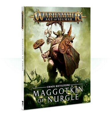 Battletome: Maggotkin Of Nurgle Warhammer Age Of Sigmar Games Workshop New • 22.50£