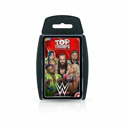 WWE Top Trumps Card Game 2018 Edition New Sealed • 4.99£