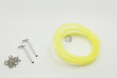 Atop RC Hi Flow Fuel Line Kit Lemon Upgrade For KM X2 & Losi 5ive • 13.49£