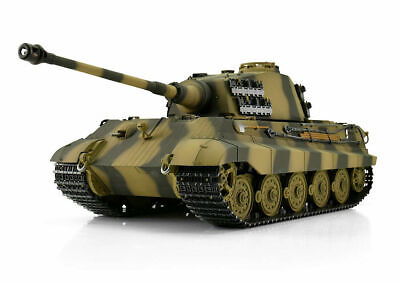 Torro King Tiger 1/16  Henschel Turret RC Tank 2.4GHz  Edition PRO Wooden Box UK • 579.99£