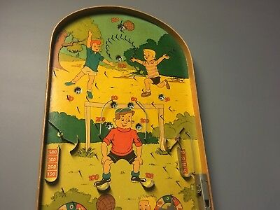 Vintage Pinball Bagatelle Game Sports Rare • 70£