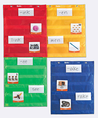 Learning Resources Magnetic Pocket Chart Squares Set Of 4 • 21.97£