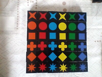 QWIRKLE Replacement Tiles Board Game • 1.15£