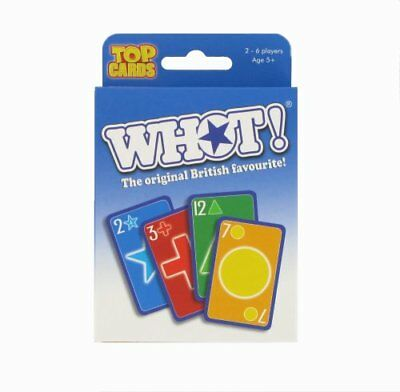 WHOT! Travel Tuckbox Card Game New Sealed • 3.89£
