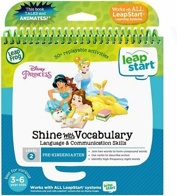 LeapFrog LeapStart 3D Book - Disney Princess Shine With Vocabulary (3D Enhanced) • 14.99£