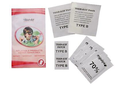 Tear Aid Inflatable & Bouncy Castle Repair Patch Kit Type B X 4 Airbed Tape • 7.79£