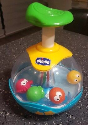 Chicco Aquarium Light And Music Spinner • 12.99£