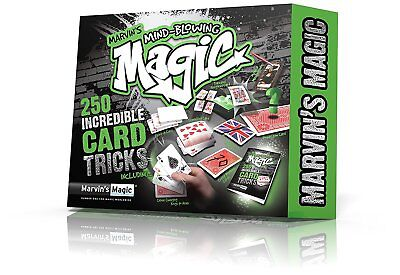 Marvin's Mind Blowing Magic 250 Incredible Card Tricks Magicians Set  • 15.95£