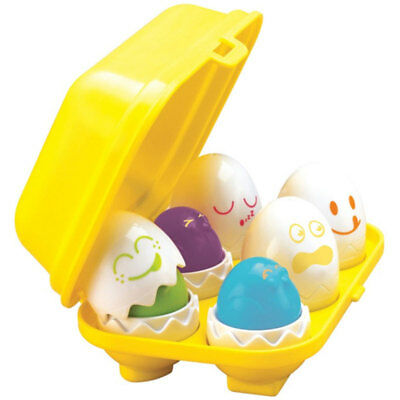 TOMY 1581 Hide N Squeak Eggs Play To Learn Baby Toddler Toy Hide And Squeak • 9.99£