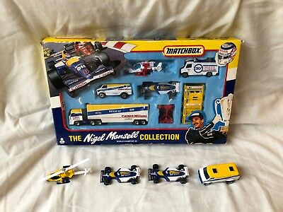 Matchbox Nigel Mansell World Champion 92 Complete Set #38830 With Extras  • 60£