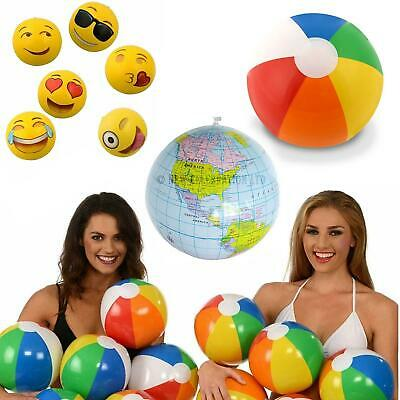 Inflatable Beach Ball Summer Kids Pool Party Blow Up Swimming Toy 11  20  24  • 2.20£