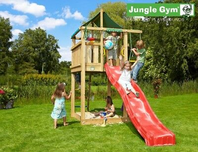 Jungle Gym Lodge Climbing Frame - Build Your Own Plans • 5.95£