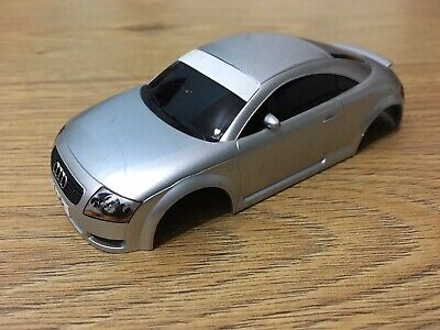 Scalextric Spares Audi TT Body / Shell Slot Car Silver • 7.25£