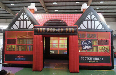 Inflatable/Pop Up Pub , Building Twin Themed Walls • 2,400£