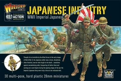 Imperial Japanese Infantry Warlord Games Brand New WGB-JI-02 • 26.55£