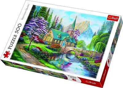 Trefl 500 Piece Adult Large Woodland Seclusion Mountain Scenery Jigsaw Puzzle • 8.49£
