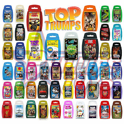 Top Trumps Card Games Play & Discover Exclusives Dragons Walliams Roald Dahl  • 4.99£