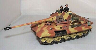 King And Country King Tiger Tank & Crew - Wwii German Forces 1:30 Scale • 249.99£