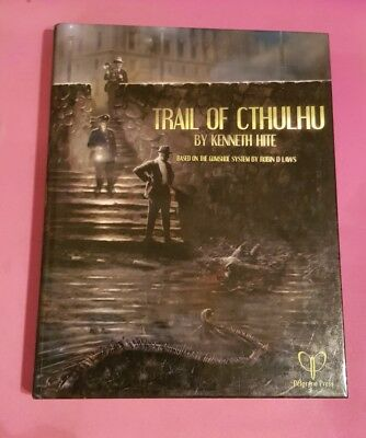 Core Book  Trail Of Cthulhu Rpg Roleplaying Mythos Lovecraft Magic Occult Horror • 34.99£