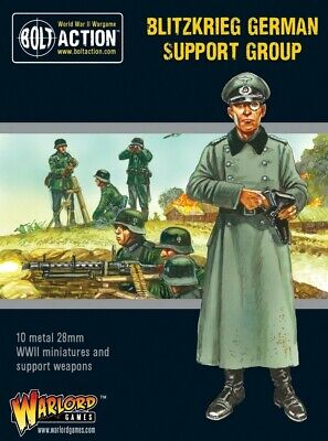 Blitzkrieg German Support Group Warlord Games Brand New WGB-402212007 • 18£
