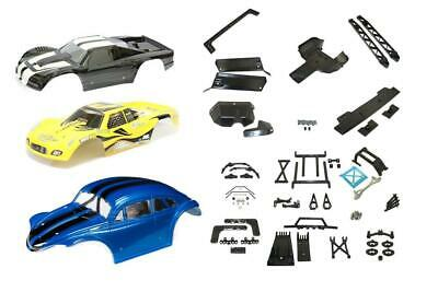 KM Buggy To T1000 Conversion Kit With Bodyshell For Rovan HPI Baja 5B To 5T • 109.99£