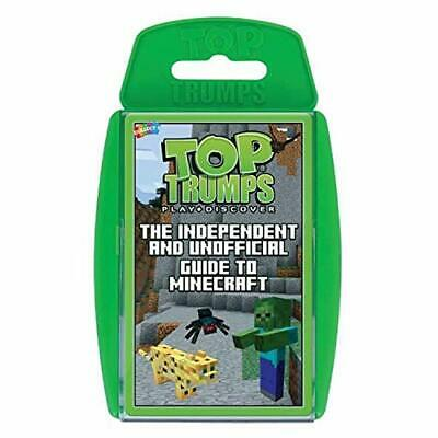 Top Trumps Independent And Unofficial Guide To Minecraft Card Game • 5.99£