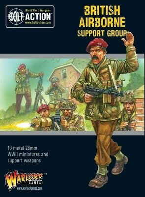 British Airborne Support Group Warlord Games Brand New WGB-402212108 • 18£