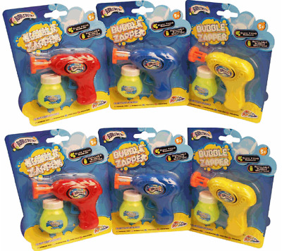 Kids Childrens 7  Bubble Power Gun Shooter With 1 Free Bottle Of Solution • 3.95£