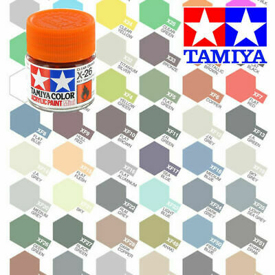 Tamiya Acrylic Paint 10ml Full Range X & XF - Choose Colour Airfix • 2.89£