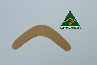 Australian Made Timber 23cm Blank Boomerang Shape 3mm Thick Sealed MDF  (qty 18) • 14.94£