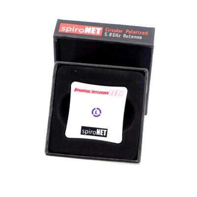 ImmersionRC Fatshark SpiroNet 5.8GHz Patch Antenna LHCP SMA - UK Stock • 13.99£