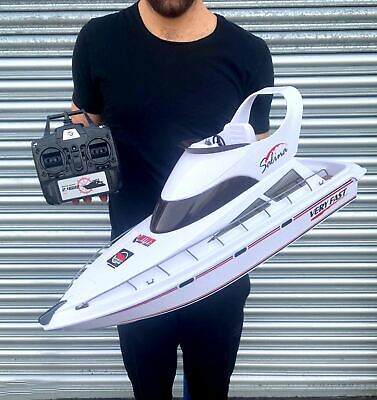 New Large Radio Control Rc Boat High Speed For Racing Rtr Fast! • 69.99£