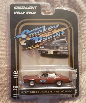 Greenlight Sheriff Buford T Justices 1977 Pontiac  Limited Edition  1-64 Scale  • 12.99£