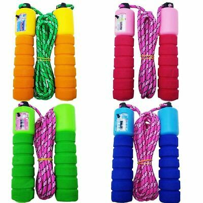 Jump Ropes Automatic Counting Wire Exercise Skipping Rope Fitness Outdoor Sports • 4.99£